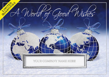 Worldly Wishes Holiday Cards